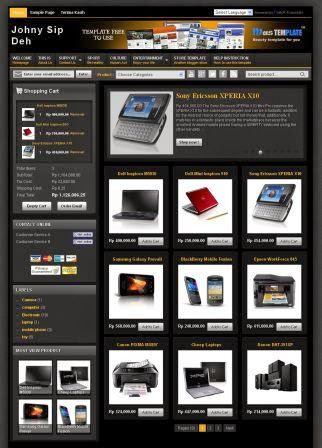 Online Store Blog with Invoice Mail