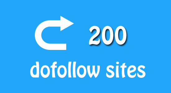 200 Dofollow Blogs for Backlink Hunter Comments
