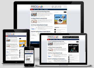Pro Google Theme - Google Recommended Blog Template