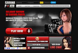 Saranapoker.com Indonesia's Trusted Online Texas Poker and Domino Agent